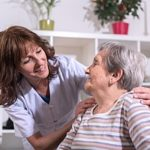 a senior receiving hospice care after her home was fully prepared