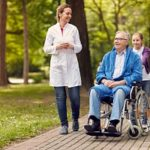 a man happy because his medicare covers hospice care