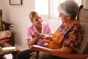 Hospice care for woman with kidney failure