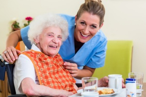 elderly woman experiencing care for her acute kidney injury (aki)