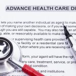 Paperwork for advanced directives