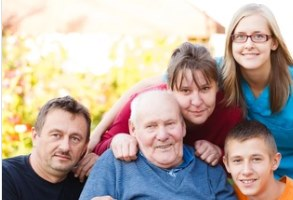Caring Family with Hospice For Dementia patient
