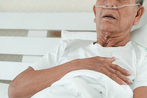 Old Patient in Hospice Have Chest Pain