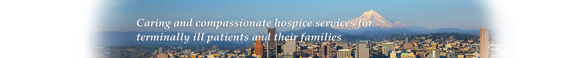 Harbor Light Hospice banner quote